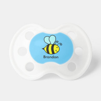 Personalised Bumble Bee Pacifier
