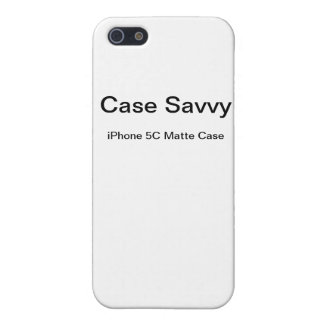 Personalised Case-Savvy iPhone 5C Matte Case iPhone 5/5S Case