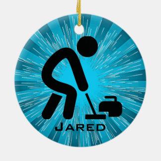 Personalised Curling Ornament