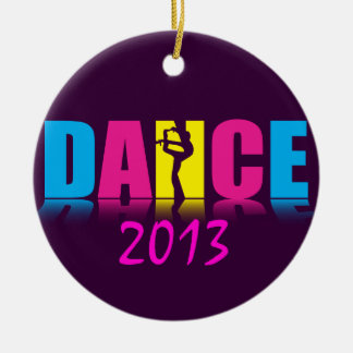 Personalised Dance Dancer Christmas Ornament