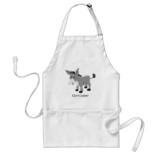 Personalised Donkey Design Standard Apron