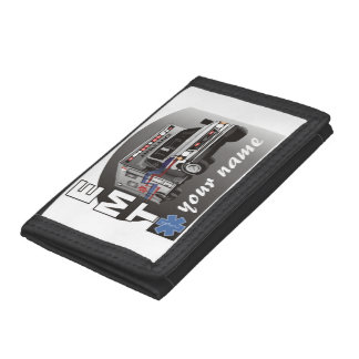 Personalised EMT Tri-fold Wallet
