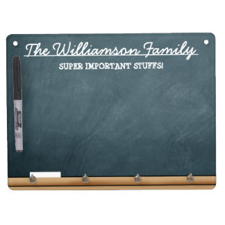 Personalised Faux-Chalkboard Dry-Erase Whiteboards