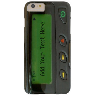Personalised Funny 90s Old School Pager Barely There iPhone 6 Plus Case