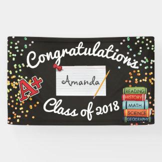Personalised Graduation Banner