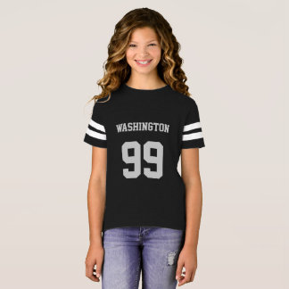 Personalised Jersey T-Shirt