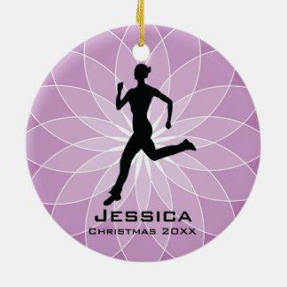 Personalised Jogger Runner Ornament