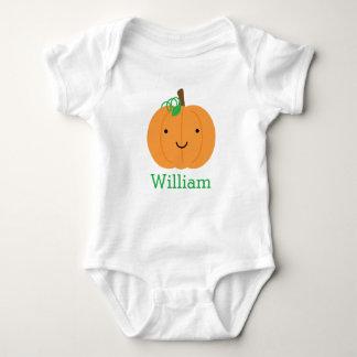 Personalised Little Pumpkin Baby Bodysuit