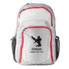 Personalised Martial Arts Karate Custom Name Text Backpack