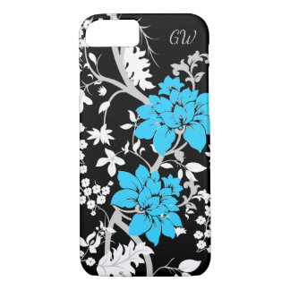 Personalised Modern floral iPhone 7 Case