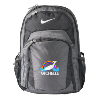 Personalised Narwhal Backpack