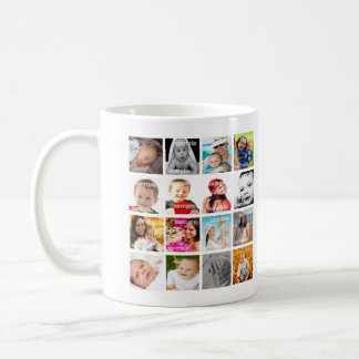 Personalised Photo Collage Make Your Own Coffee Mug