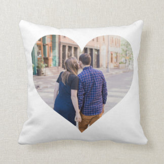 Personalised | Photo Heart Throw Pillow