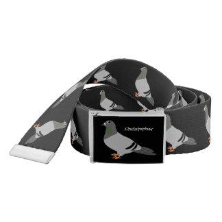 Personalised Pigeon Design Belt