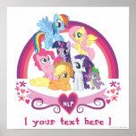 Personalised Ponies Poster