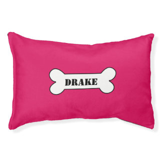 Personalised Ruby Pet Bed
