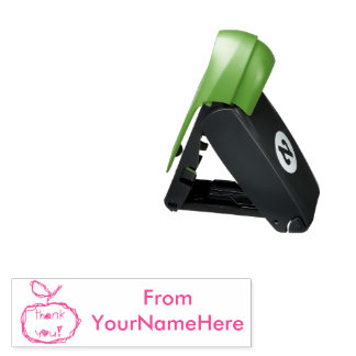 Personalised Teacher Thank You Stamp