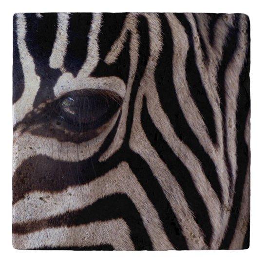 Personalised Zebra Trivet