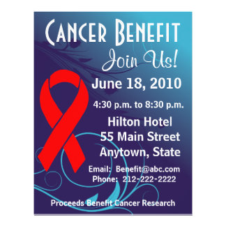 Personalize Cancer Benefit  - Blood Cancer Flyer