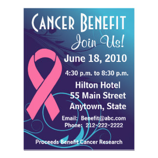 Personalize Cancer Benefit  - Breast Cancer Flyer