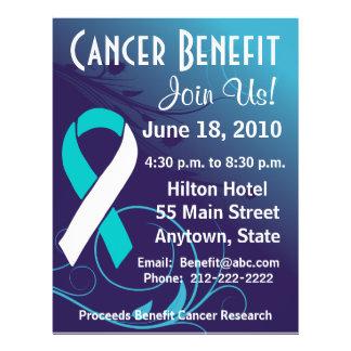Personalize Cancer Benefit - Cervical Cancer Flye Custom Flyer