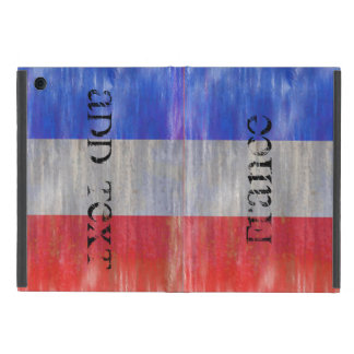 Personalize - French Distressed Flag - France Case For iPad Mini