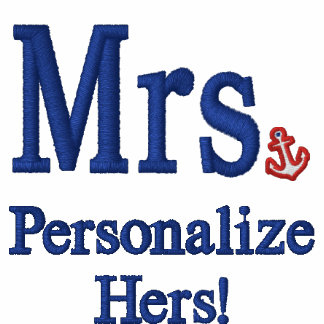 Personalize Mr & Mrs Embroidery Embroidered Gear Jacket
