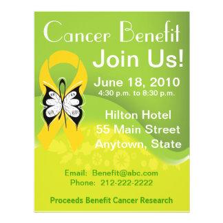 Personalize Neuroblastoma Fundraising Benefit 21.5 Cm X 28 Cm Flyer
