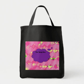 Personalize Your Very Own Tote Grocery Tote Bag