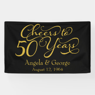 Personalized 50th Golden Wedding Anniversary