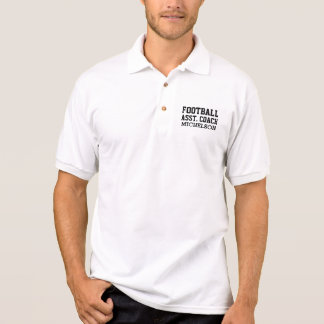 Personalized Assistant Team Coach Polo Shirt