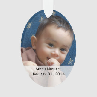 Personalized Baby Photos Ornament