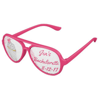 Personalized Bachelorette Party Cupcake Shades