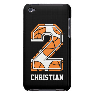Personalized Basketball Number 2 iPod Touch Case