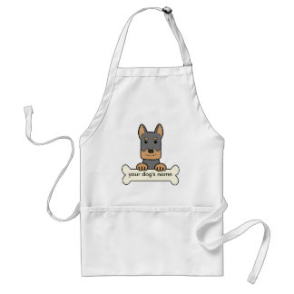 Personalized Beauceron Standard Apron