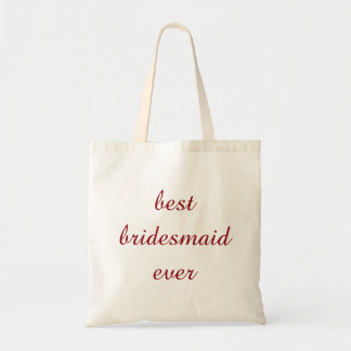 Personalized Best Bridesmaid Ever