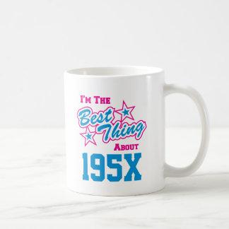 Personalized Birth Year - Born in the 1950's Coffee Mug