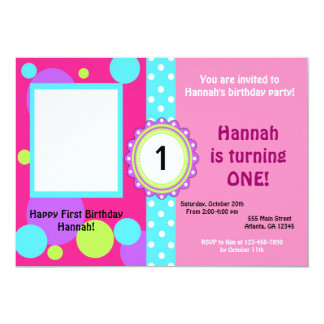 Personalized Birthday Invitaitons Card