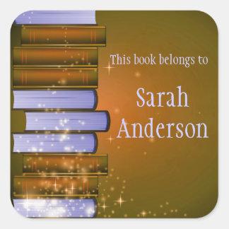 Personalized Bookplate Sticker