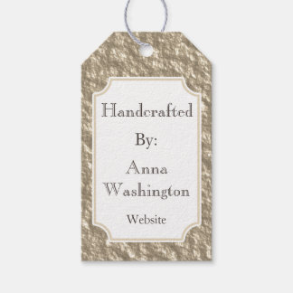 Personalized Bronze Handcrafted Tag