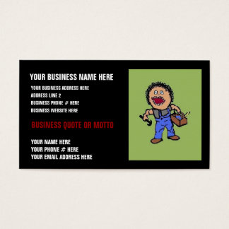 Personalized Builder Business Card