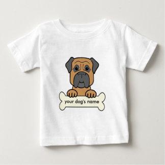 Personalized Bullmastiff Baby T-Shirt