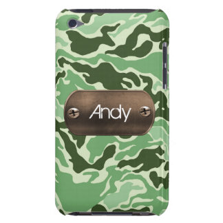 personalized camo army green iPod Case-Mate cases