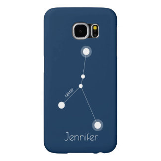 Personalized Cancer Zodiac Constellation Samsung Galaxy S6 Cases