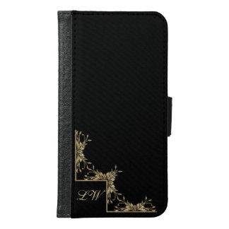 Personalized Case - Gold on Black with Text