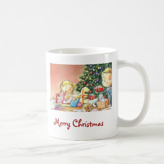 Personalized Christmas Coffee Mugs-Old Fashioned M
