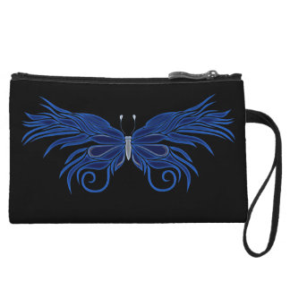 Personalized Decorative Butterfly Clutch Purse Wristlet Purses