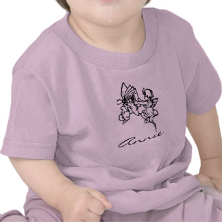 Personalized Fairy Tale Vintage Baby Tee Gift