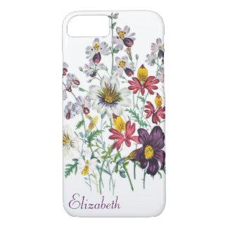 Personalized Fringeflowers/Velvet Trumpet Flowers iPhone 8/7 Case