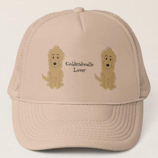 Personalized Goldendoodle Dog Design Trucker Hat
